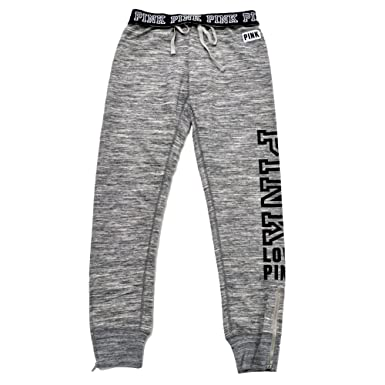 464d867e6bb8f VS Pink Victoria's Secret Pink Gym Pant Sweatpants MARL Gray