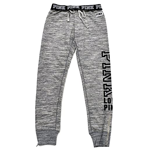 464d867e6bb8f VS Pink Victoria's Secret Pink Gym Pant Sweatpants MARL Gray
