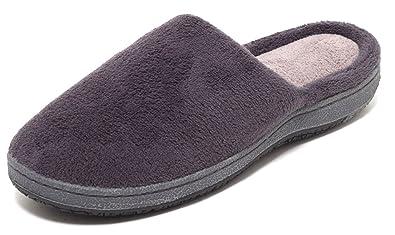 Wellness Soft Hausschuhe Gr. 42 Schuhe Puschen Pantoffel Pantoletten braun bzaPUl4