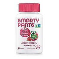 SmartyPants Kids Probiotic Immunity Formula Daily Gummy Vitamins; Immunity Boosting...