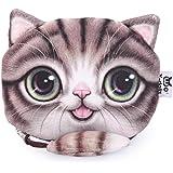TrendsGal Women's Cartoon Cat Zipper Ladies Workmanship Change Purse