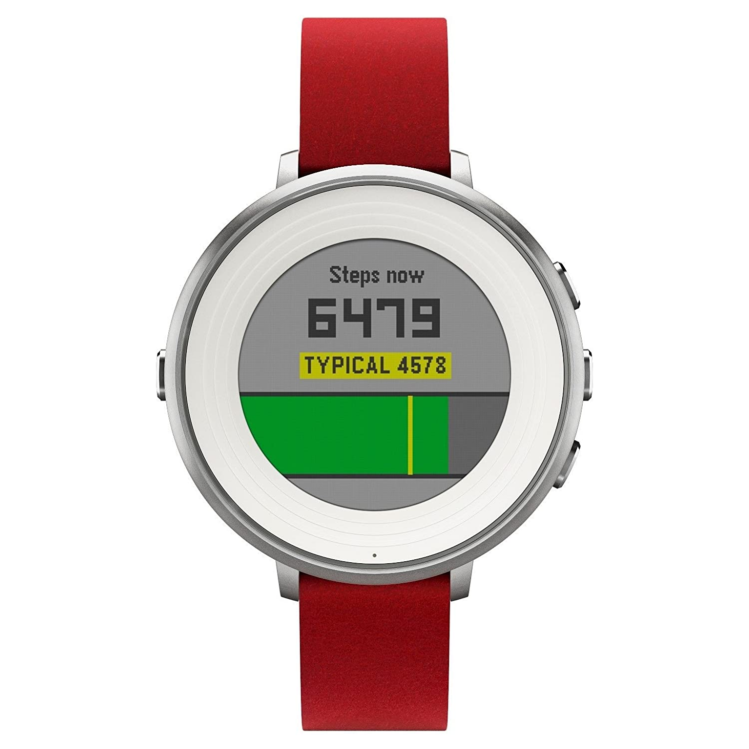 Pebble tiempo redondo 14 mm Smartwatch para Apple/Android ...