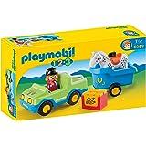 Playmobil - 6958 - Véhicule avec remorque  cheval