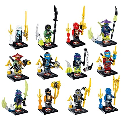 Amazon.com: 12 Piece NINJAGO Ninja ninjaed Darkseid Super ...