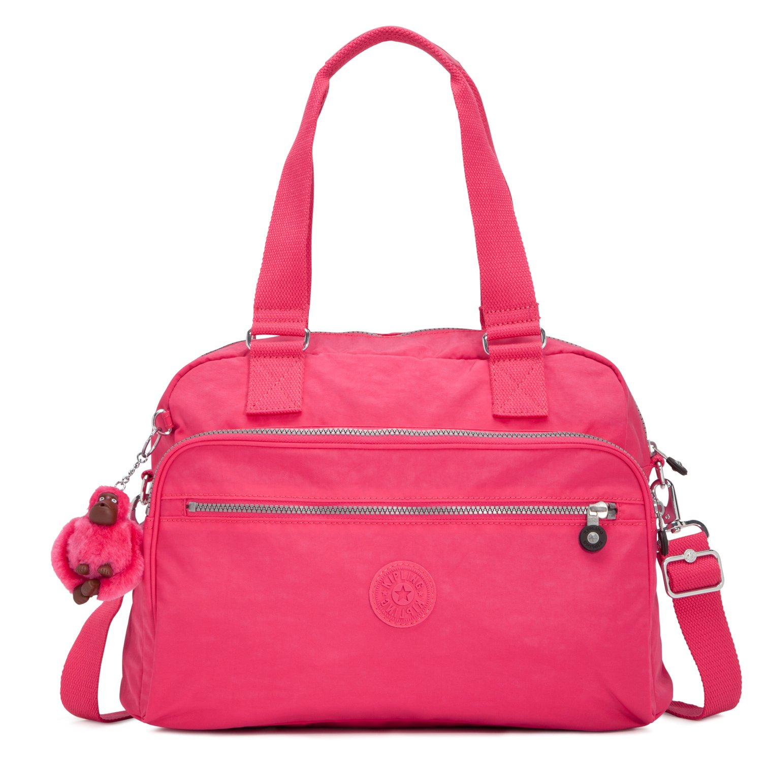 Kipling Newweekend, Vibrant Pink, One Size