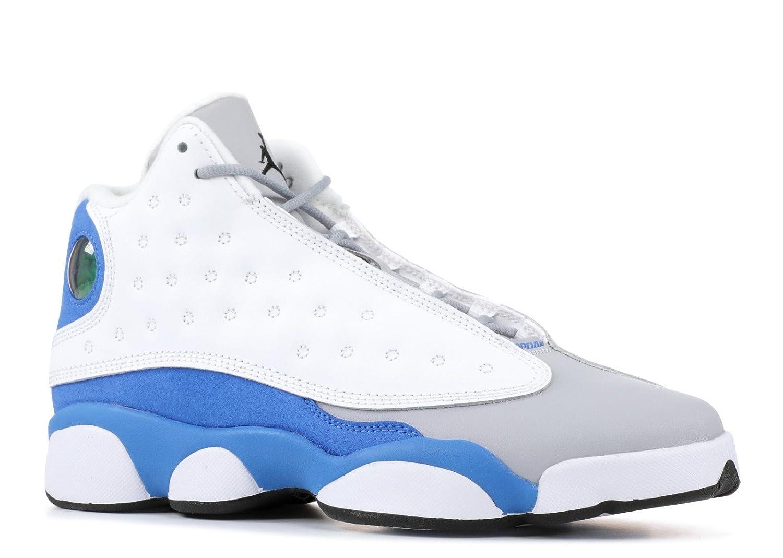 timeless design c04f2 99c79 Amazon.com   Air Jordaan Retro 13 GG Boys Shoes White Italy 439358-107    Basketball