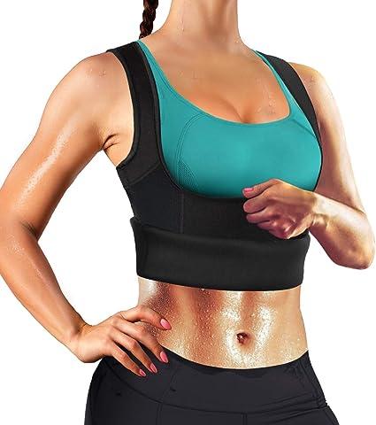 Sweat Neoprene Hot Slim Body Shaper Waist Trainer Cincher Sauna Vest Belt US