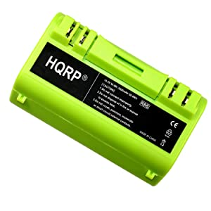 HQRP 3500mAh Extended Battery for iROBOT Scooba 330/350 / 380/390 / 590/5806 / 5910/5920 / 5940/5950 / 34001 Series APS 14904 Replacement plus Coaster