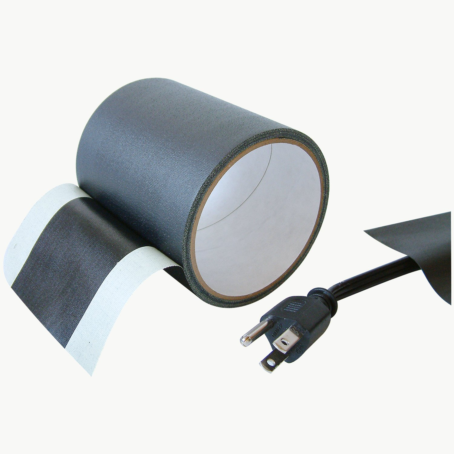 Amazon.com: JVCC Wire-Line Cable Cover Tape: 4 in. x 30 ft. (Black ...
