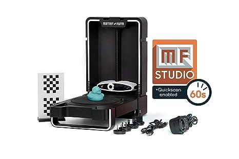 Matter & Form Mfs1V2 3D Scanner V2 +Quickscan, Black