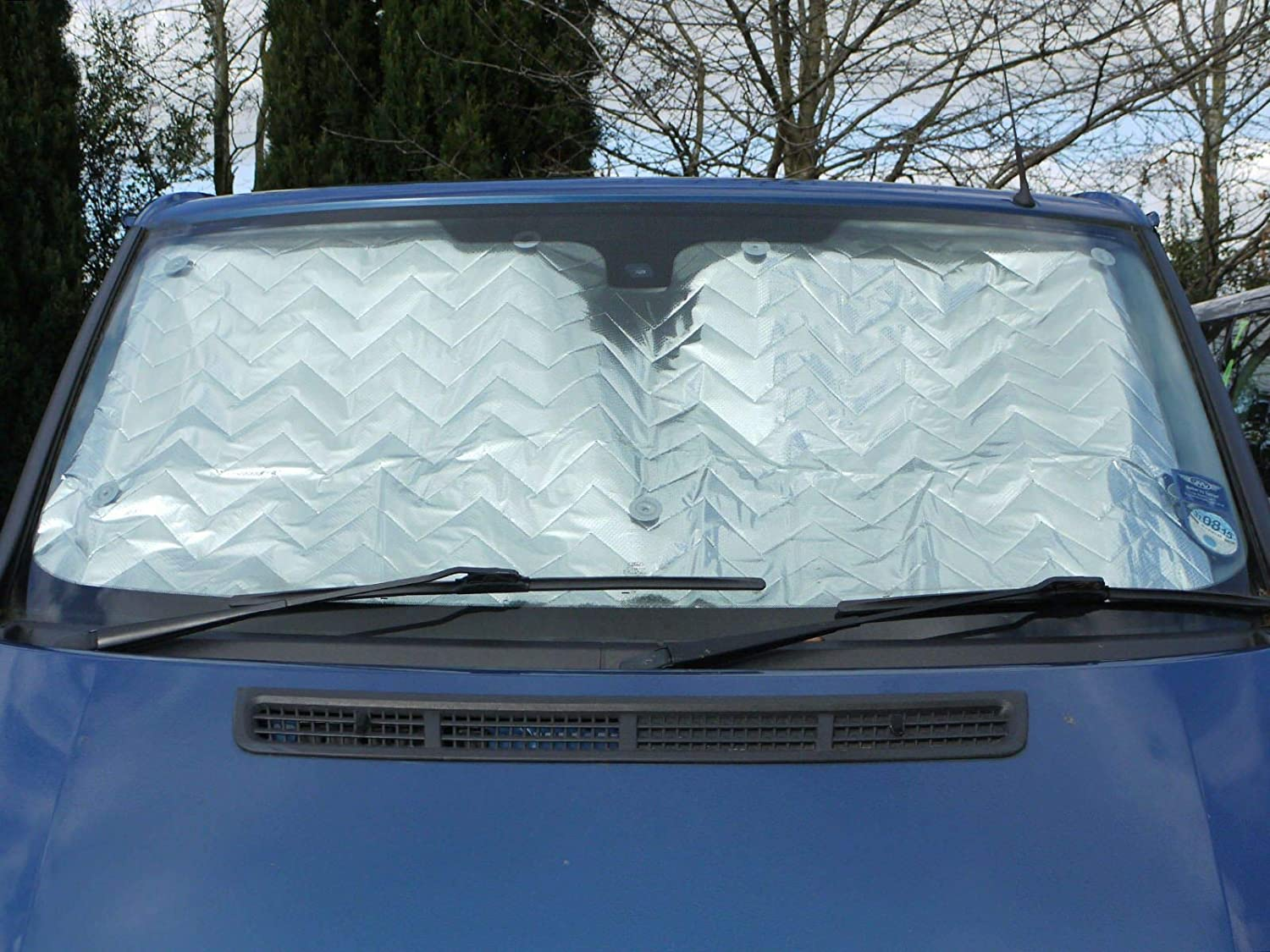 Van Demon Internal Thermal Screen Blinds 3 Piece Cover Set for Drivers Cab Windows