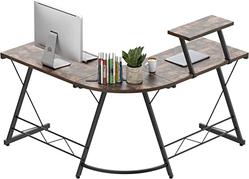 Amyove L-Shaped Desk
