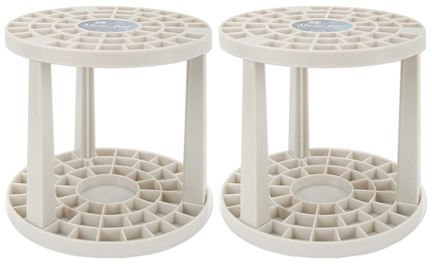2-Pack - Loew-Cornell 390 Multi Bin Brush Organizer, 49 Hole