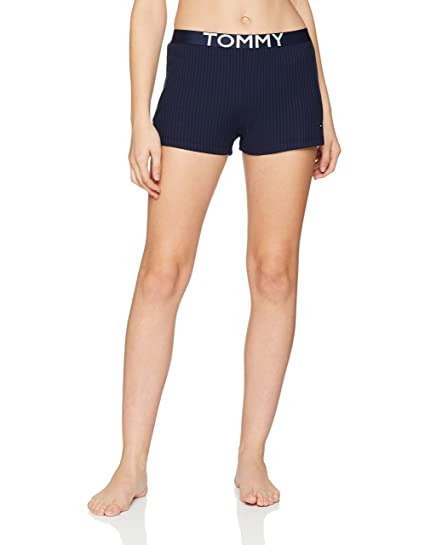 417010339a6 Tommy Hilfiger Women s Rib Short Pyjama Bottoms  Amazon.co.uk  Clothing