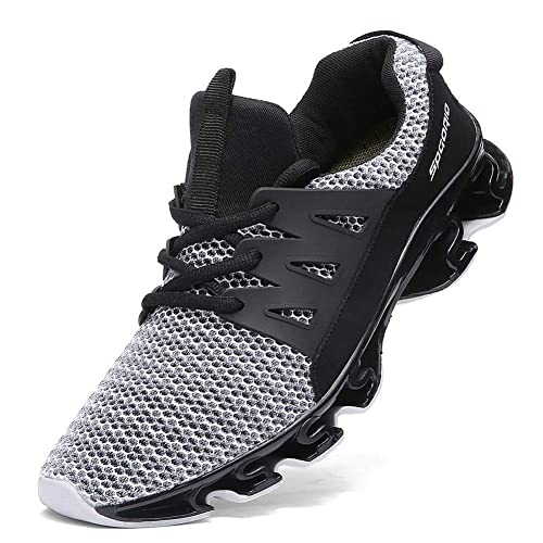 4919bbccb726c Ufatansy Unisex Men's Air Running Shoes Trainers Mesh Breathable Sneakers  for Multi Sport Athletic Jogging Fitness Walking Shoes