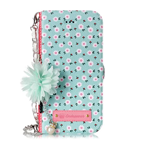 Funda iPhone 6 Plus, Estilo Billetera Carcasa para iPhone 6 ...