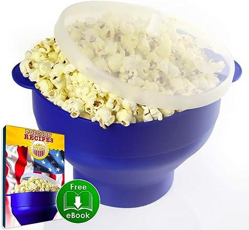 Amazon.com: Microondas Popcorn Popper – El original Pop Corn ...