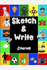Sketch & Write Journal Paperback