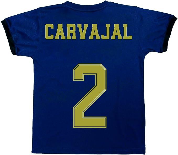 Champions City Kit Camiseta y Pantalón Infantil Segunda Equipación - Real Madrid - Réplica Autorizada - Jugadores: Amazon.es: Deportes y aire libre