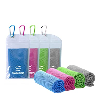 KUEN [4 Pack] Cooling Towel (40