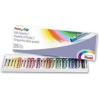 Pentel Yağlı Pastel Boya, Standart Kutu, 25 Renkli