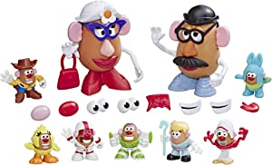 Mr Potato Head Disney/Pixar Toy Story 4 Andy's Playroom Potato Pack Toy for Kids Ages 2 & Up