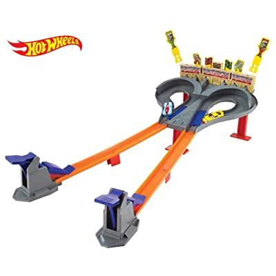 Hot Wheels Super Speed Blastway Track Set [ Exclusive]: Toys & Games