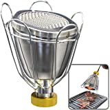 Stainless Steel Culinary Torch Attachment, Pro Grade, Handheld Broiler, Perfect for Sous Vide, Searing & Melting, for Use in