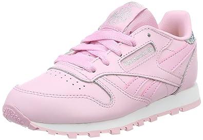 Reebok Royal CL Jog 2 Kinder Sneaker Größe 35 Pink (Rosa) 23Bus027