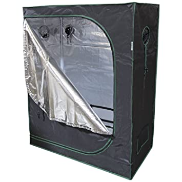 Urban Farmer 48x24x60 Reflective Mylar Hydroponic Grow Tent for Indoor Plant Growing  sc 1 st  Amazon.com & Amazon.com : Urban Farmer 48x24x60 Reflective Mylar Hydroponic ...