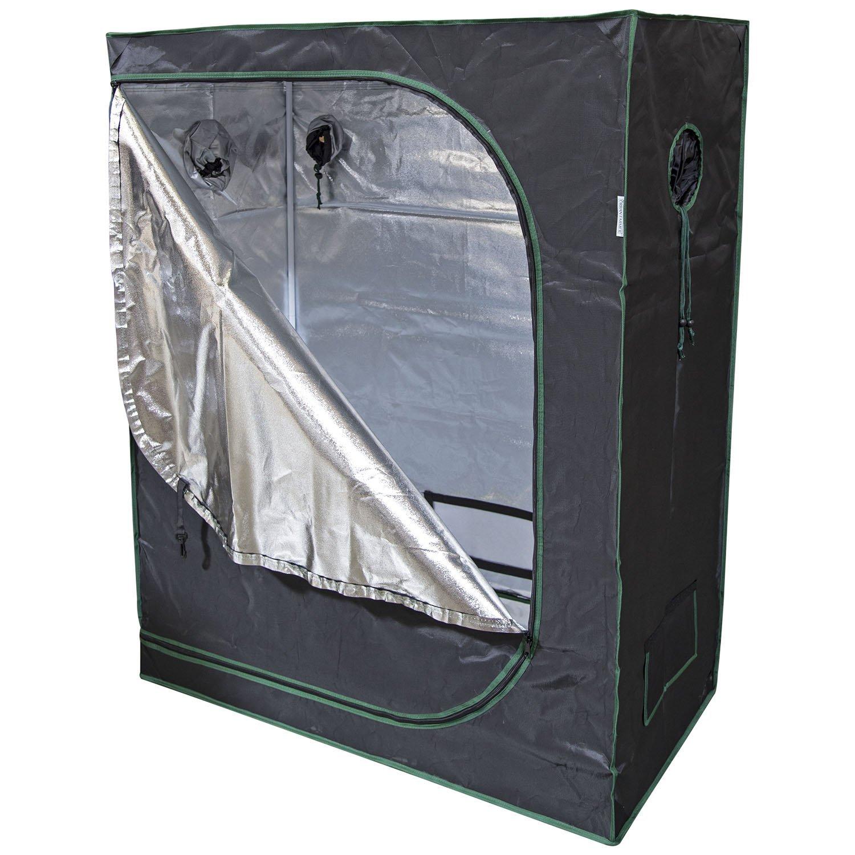 Urban Farmer 48x24x60 Reflective Mylar Hydroponic Grow Tent for Indoor Plant Growing