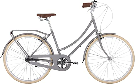 BOBBIN Birdie Bicicleta Urbana, Mujer, Gris (Mushroom), 40: Amazon ...