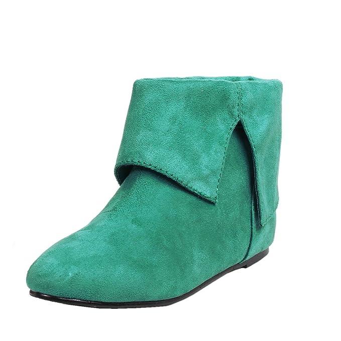 Amazon.com: Para hombre Peter Pan Zapatos Botines Punta ...