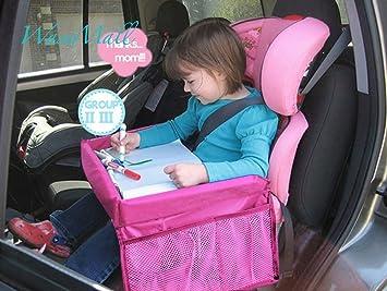 WASE Kids Travel Games Tray Car Seat Lap Children Toddler Organizer For