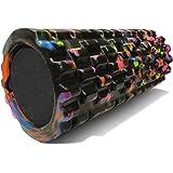 Foam Massage Roller - Black , Green , Pink , Orange , Aqua , Red , Aurora , Peacock or Sunrise