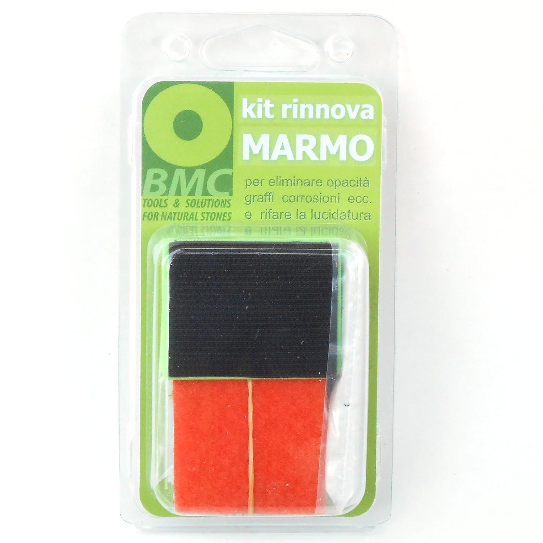 kit rinnova MARMO per eliminare opacità, graffi, corrosioni ...