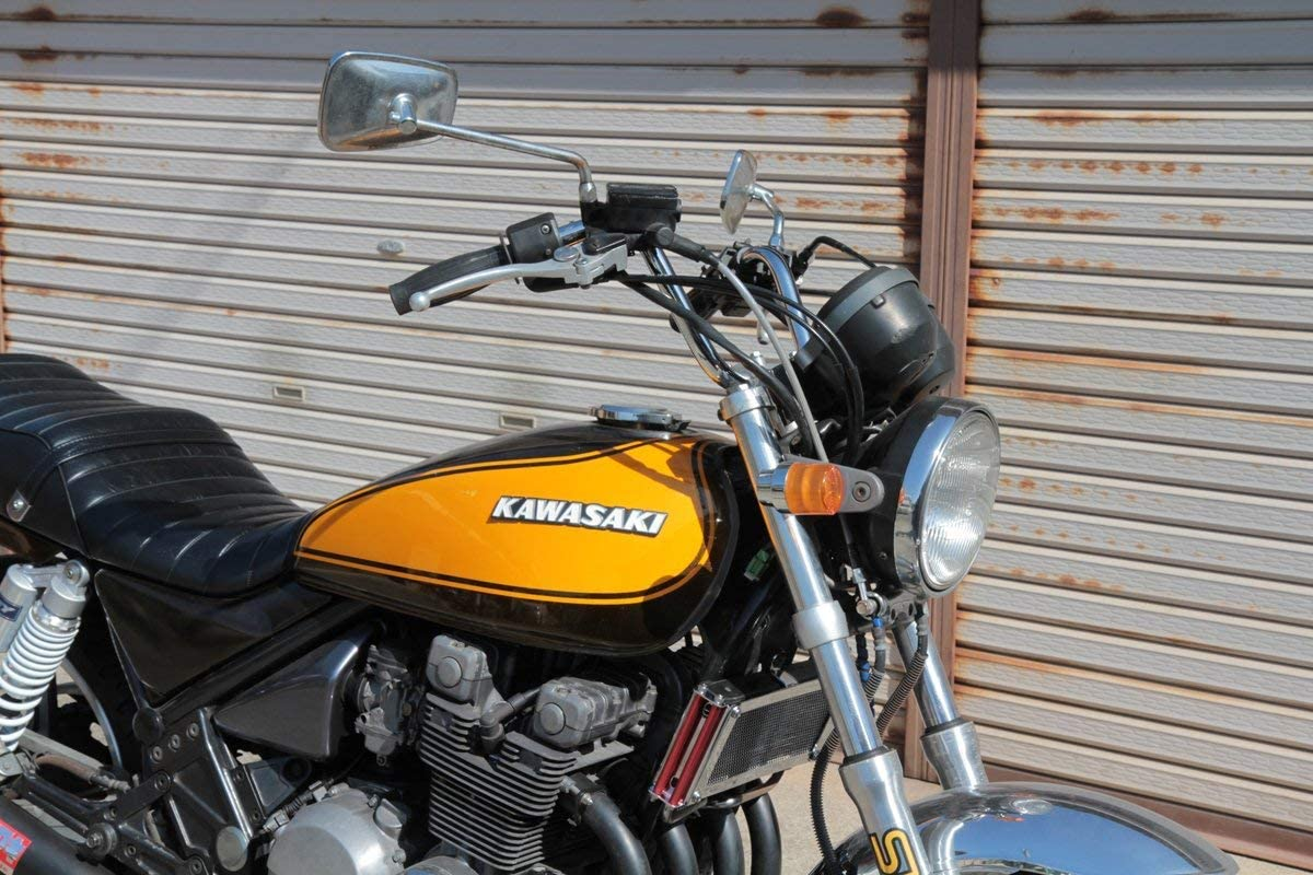 Romsion Guidon modifi/é 22 mm 25 mm pour Moto Harley Honda Kawasaki Suzuki Chopper Bobber Cafe Racer