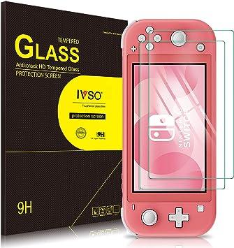 IVSO Templado Protector para Nintendo Switch Lite, Premium Cristal de Pantalla de Vidrio Templado para Nintendo Switch Lite, 2 Pack: Amazon.es: Electrónica