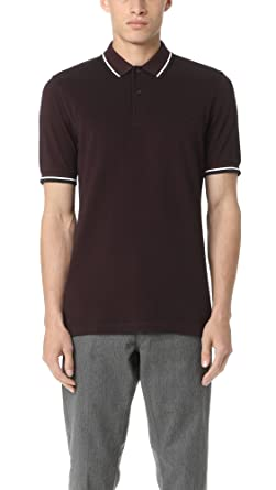 bdfc414f02a Fred Perry Slim Fit Twin Tipped Shirt Mahogany