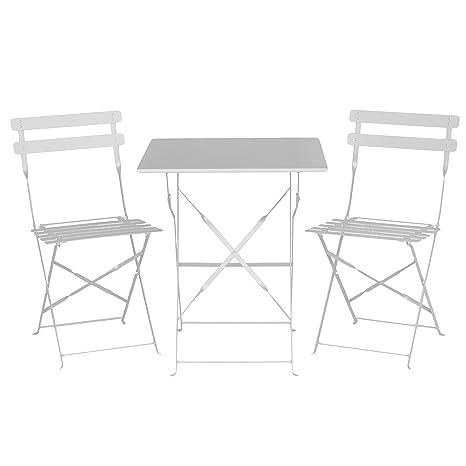 vacchetti José 6447490000 Mesa Rimini con 2 sillas Plegables ...