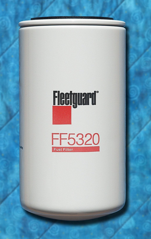 Fleetguard FF5320 Fuel, Spin-On Filter (Pack of 2)