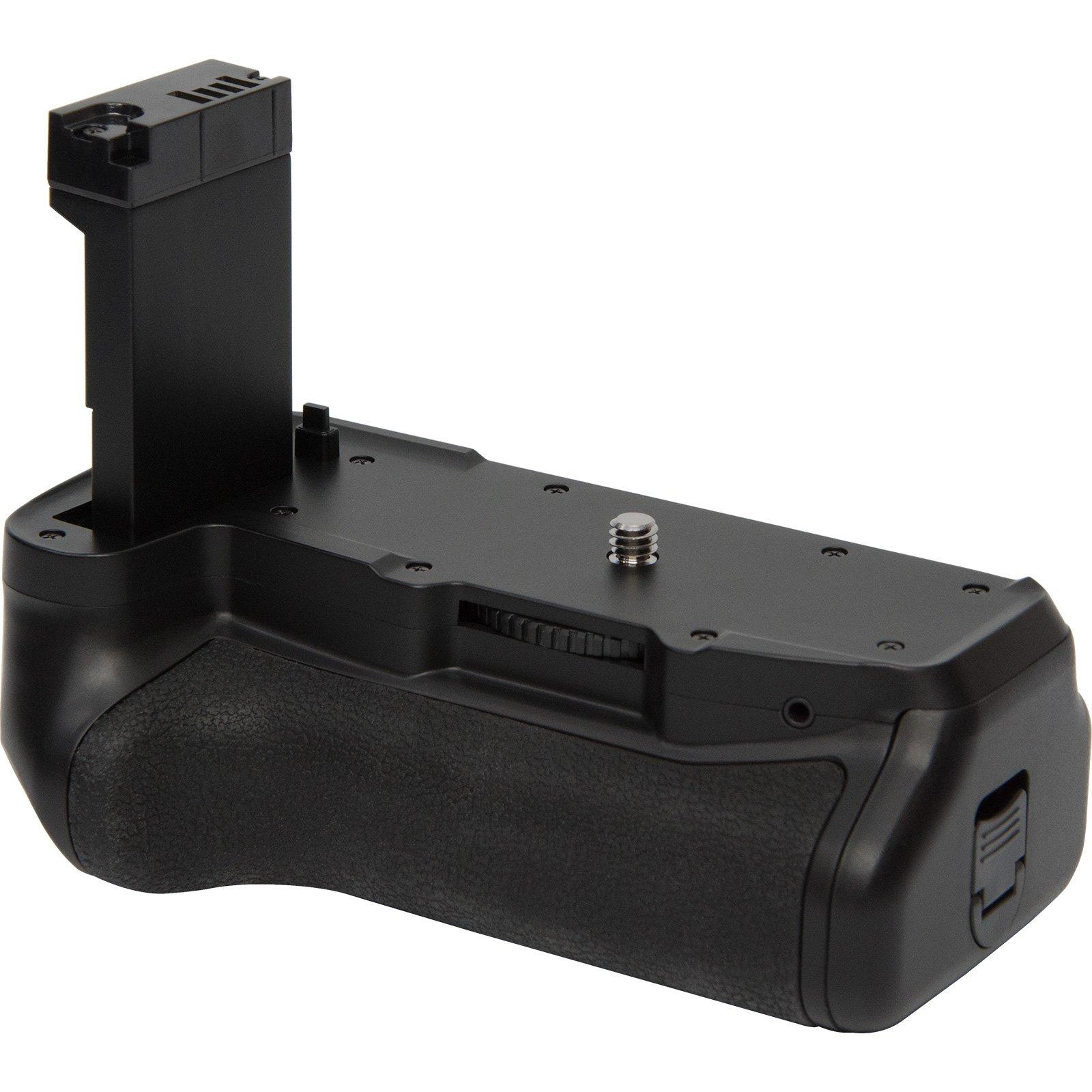 Vivitar Deluxe Power Battery Grip for Canon Rebel T7i & EOS 77D DSLR Camera