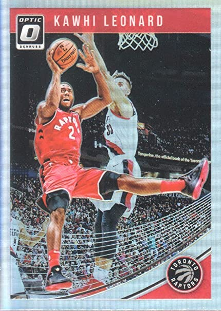314241d4cebf7 2018-19 Donruss Optic Basketball Holo #121 Kawhi Leonard Toronto ...