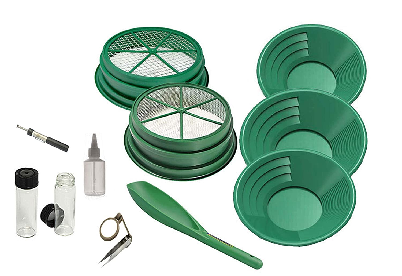 Amazon.com: 11 piezas Prospecting-Mining-Panning Kit- 2 ...