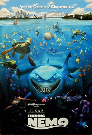 Amazon disney finding nemo original not a reprint promo amazon disney finding nemo original not a reprint promo movie poster nemo dory posters prints altavistaventures Gallery
