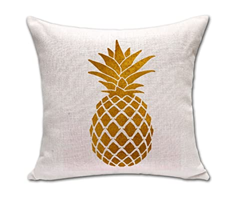 Amazon Lovely Shape Tropical Pineapple Fruit War Massager Gorgeous Pineapple Decorative Pillows