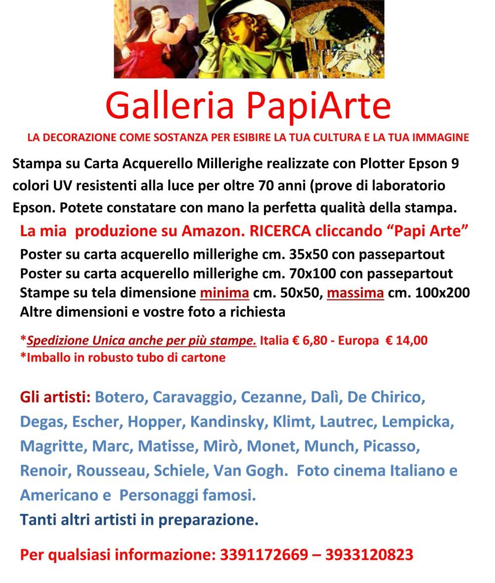 70x100 papi arte moderna stampa da quadro dipinto falso dautore vendita online BOTERO Cod 05 Poster Stampe cm