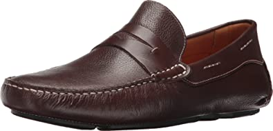 b93cf52f82b Massimo Matteo Men s Florencia Penny Driver Brown Loafer