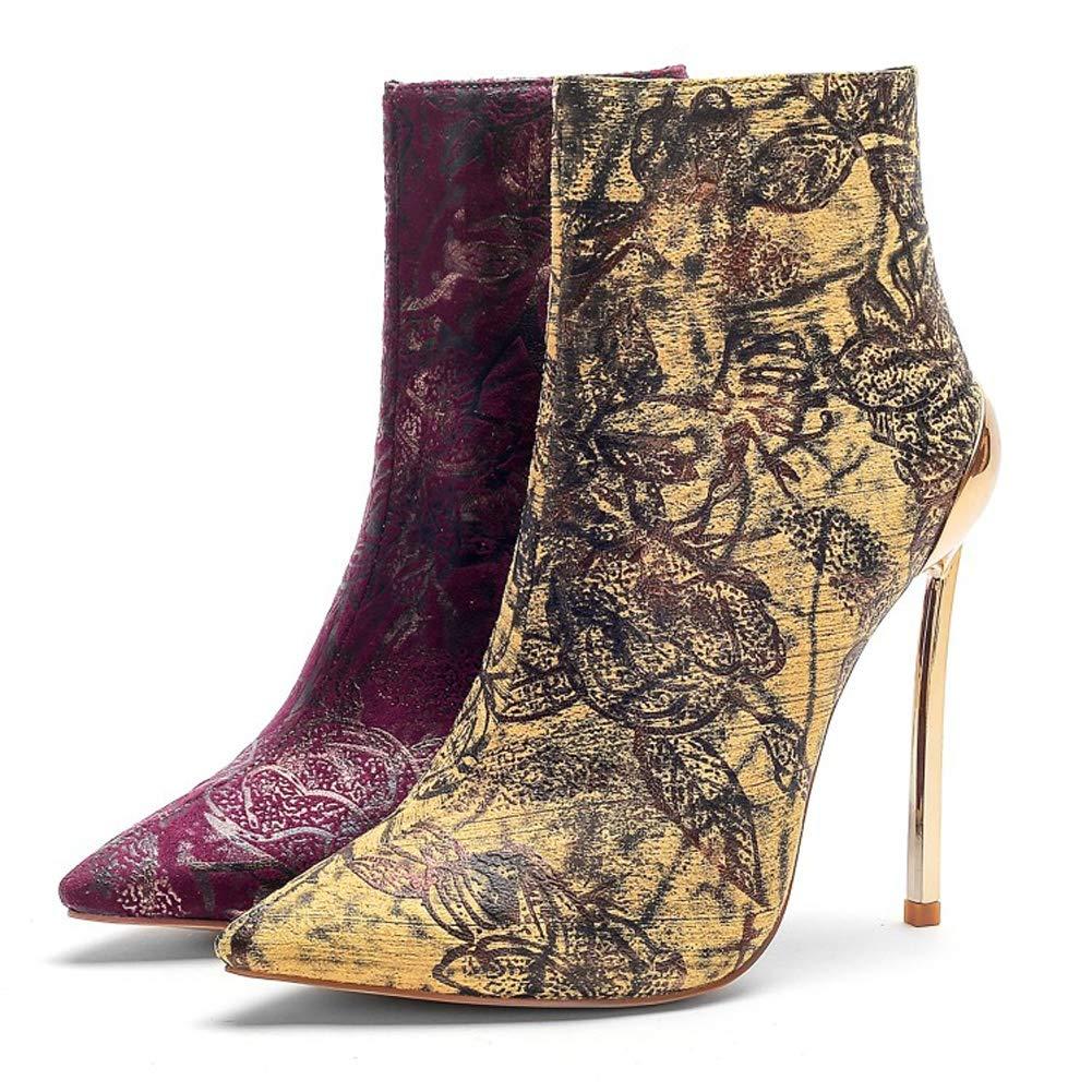 L@YC Frauen Stiefel Plattform Herbst High Heels (Größe 33-43) 33-43) 33-43) Wintermode Abend klobige Spitze 03f660