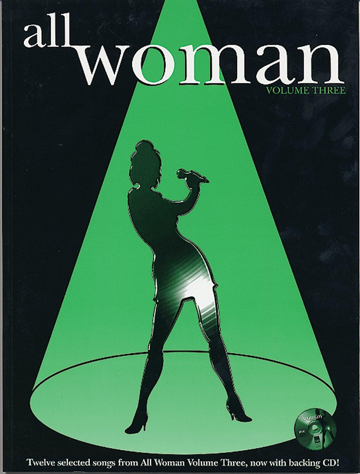 Read Online All Woman, Vol 3: Piano/Vocal/Guitar, Book & CD PDF